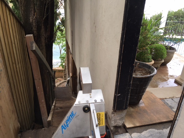 Tight Access to property – Vaucluse, Sydney